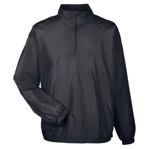 Premium Quarter-Zip Umpire Jacket - BLACK