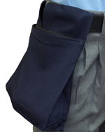 Deluxe Expandable Ball Bag - NAVY