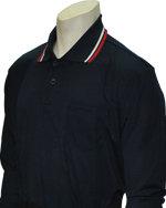 Long Sleeve Classic Umpire Shirt - NAVY