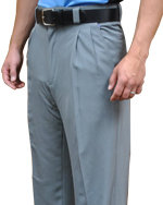 4-Way Stretch Umpire PLATE Pants - HEATHER GRAY