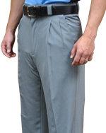 4-Way Stretch Umpire BASE Pants - HEATHER GRAY