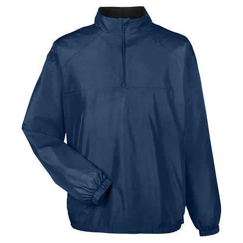 Premium Quarter-Zip Umpire Jacket - NAVY