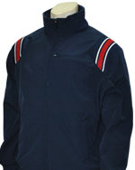 Thermal Fleece Umpire Jacket - NAVY & RED