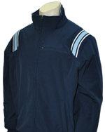 Thermal Fleece Umpire Jacket - NAVY & POWDER BLUE