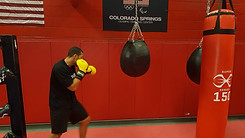 Justis Training in Colorado springs, Olympic Training Centre.