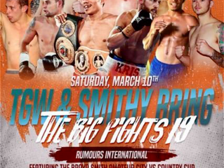 The Big Fights 19. 10/3/18