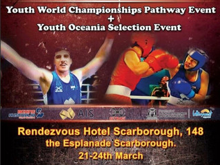 Under 19 Australian Boxing Championships. 21-24/3/18