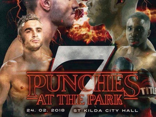 Punches at the park 7. 24/2/18.