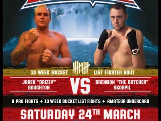 Boxing Mania. 24/3/18.