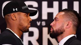 Joshua v Parker: I'm going to KO you, Kiwi tells Brit to his face