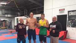 Great sparring with Mark Wilson