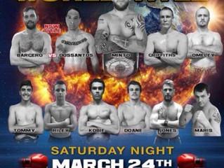 Detonation Boxing Eleven. 24/3/18
