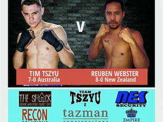 Tszyu vs. Webster. 8/4/18