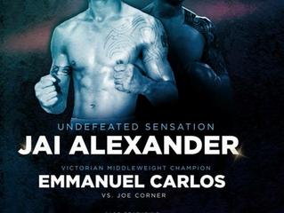 Jai Alexande. Emmanuel Carlos. 10/3/18