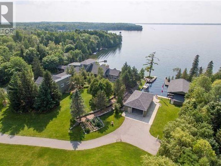 5 Most Expensive Properties Currently For Sale From Balsam Lake to Stoney Lake