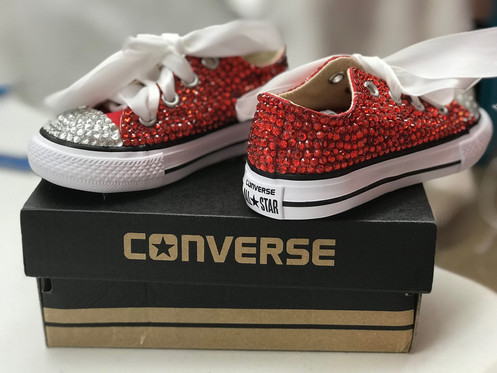 0a5c3a4dd0b9 Toddler Full Bling Converse - SHOE NOT INCLUDED.   55.00.      SHOE NOT  INCLUDED