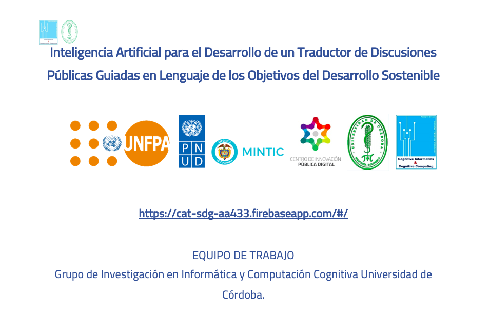 Inteligencia Artificial y ODS