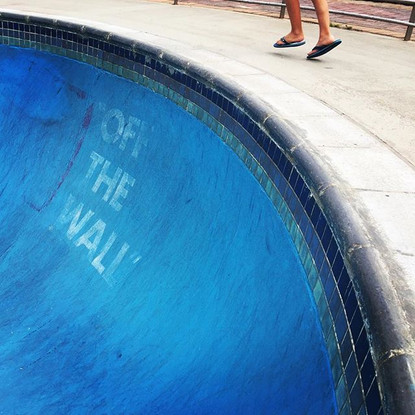 Off the Wall!