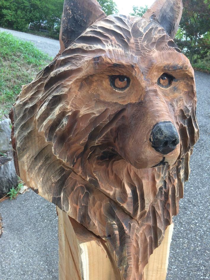 buste de loup