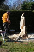 travail de sculpture