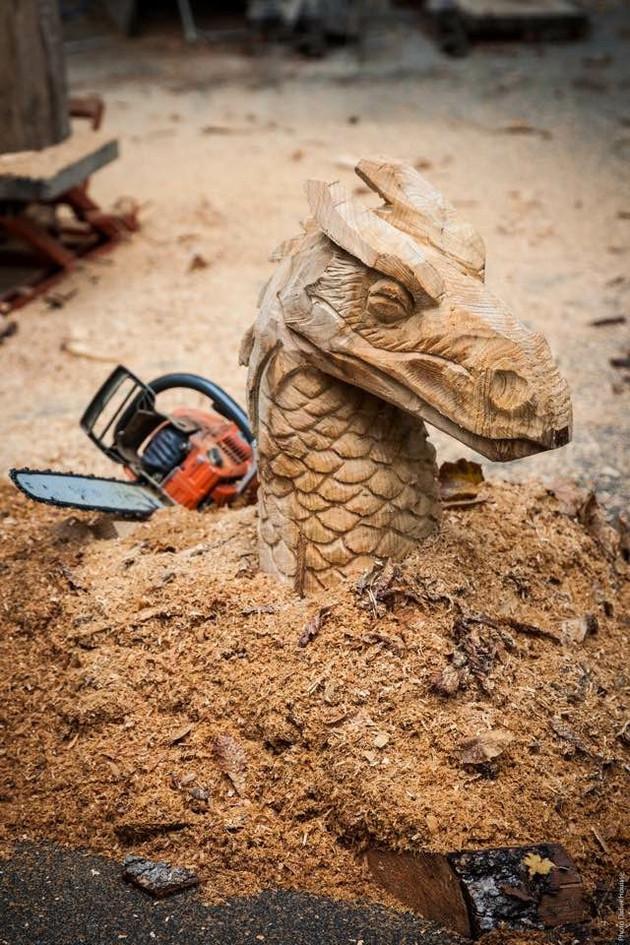 buste de dragon