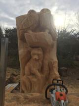 sculpture à la tronçonneuse finalisée