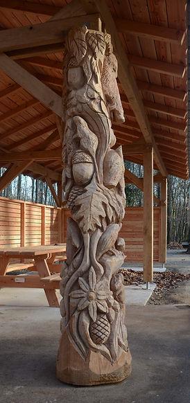 sculpture et nature