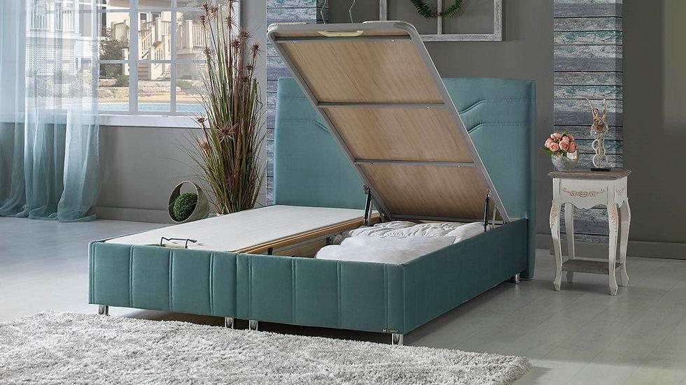 Ferro Storage Bed 160x200cm