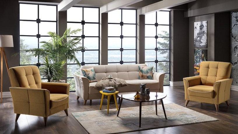 Omega Sofa Set 2+1+1