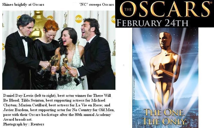 Oscars clients