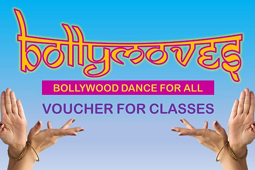 Voucher for BollyMoves Adult Bollywood Dance Classes