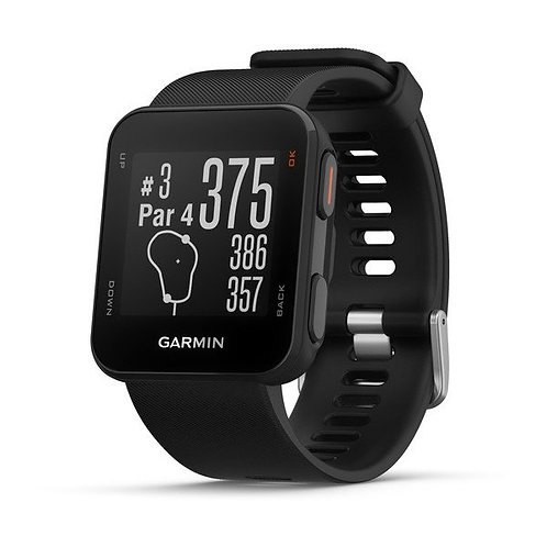 GARMIN APPROACH S10 GOLF WATCH (Black with Black Strap)