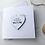 Thumbnail: Personalised 'Will you be my Valentine' Valentines Day Card with Magnet