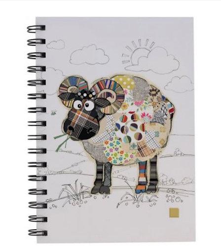 RAYMOND RAM Design Lined Notebook, A5