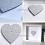 """Thumbnail: Framed """"Our Family"""" Wooden Heart"""