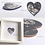 Thumbnail: Framed Wooden Baby Scan Hearts