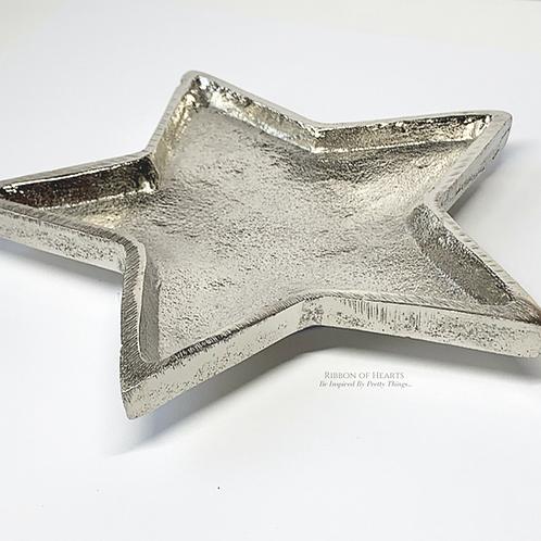 Silver Star  Dish 15cm