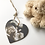 Thumbnail: Baby Scan Photo Hearts and Magnets
