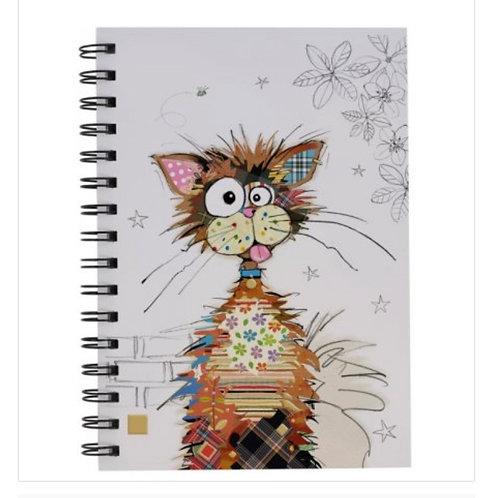 ZIGGY CAT Design Lined Notebook, A5