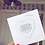 Thumbnail: Song Lyric Wooden Heart Card with Magnet