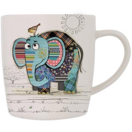 Eric Elephant Design Mug