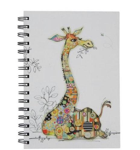 GERRY GIRAFFE Design Lined Notebook, A5