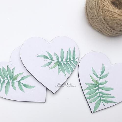 Green Leaf Magnets - Set of 3