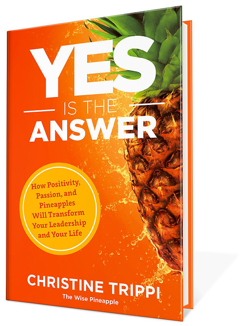 Author Signed - Yes Is the Answer - Hardcover Book