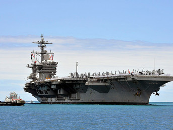 US Navy Launches First Biofuel-Powered Aircraft Carriers