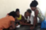 All Girls working on PSA Nkhotakota EDIT