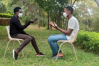 Chanco Radio Youth reporter Maina Makumb