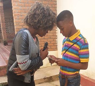 19 yo Chisomo Thengo helps Prince Mhone