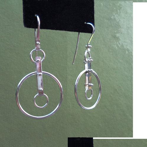 Pinned In Circle Earrings