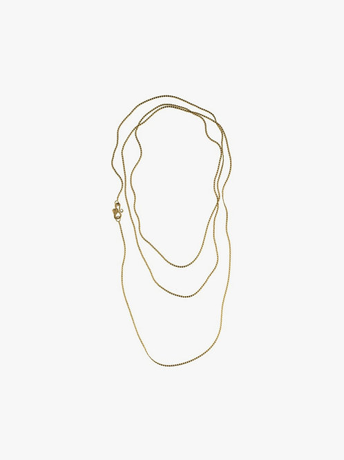 DOUBLE WRAPPED CHAIN NECKLACE